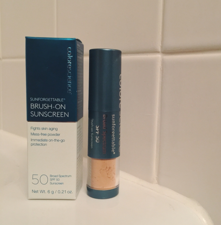 Colorescience Sunforgettable Brush On Sunscreen Review